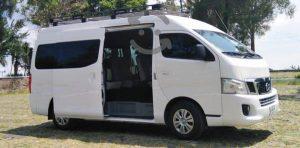 VanVip-Transporte ejecutivo y de turismo en santiago Nissan NV350